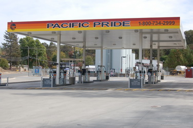 Pacific Pride cardlock fueling station